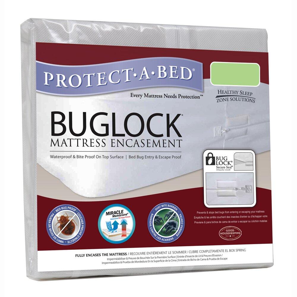 Protect A Bed Buglock Bed Bug Proof Mattress Encasement