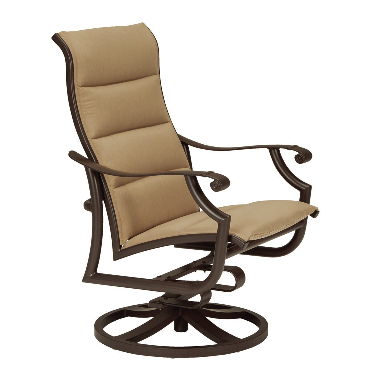 Montreux II Padded Sling Action Lounge Rocking Chair by Tropitone