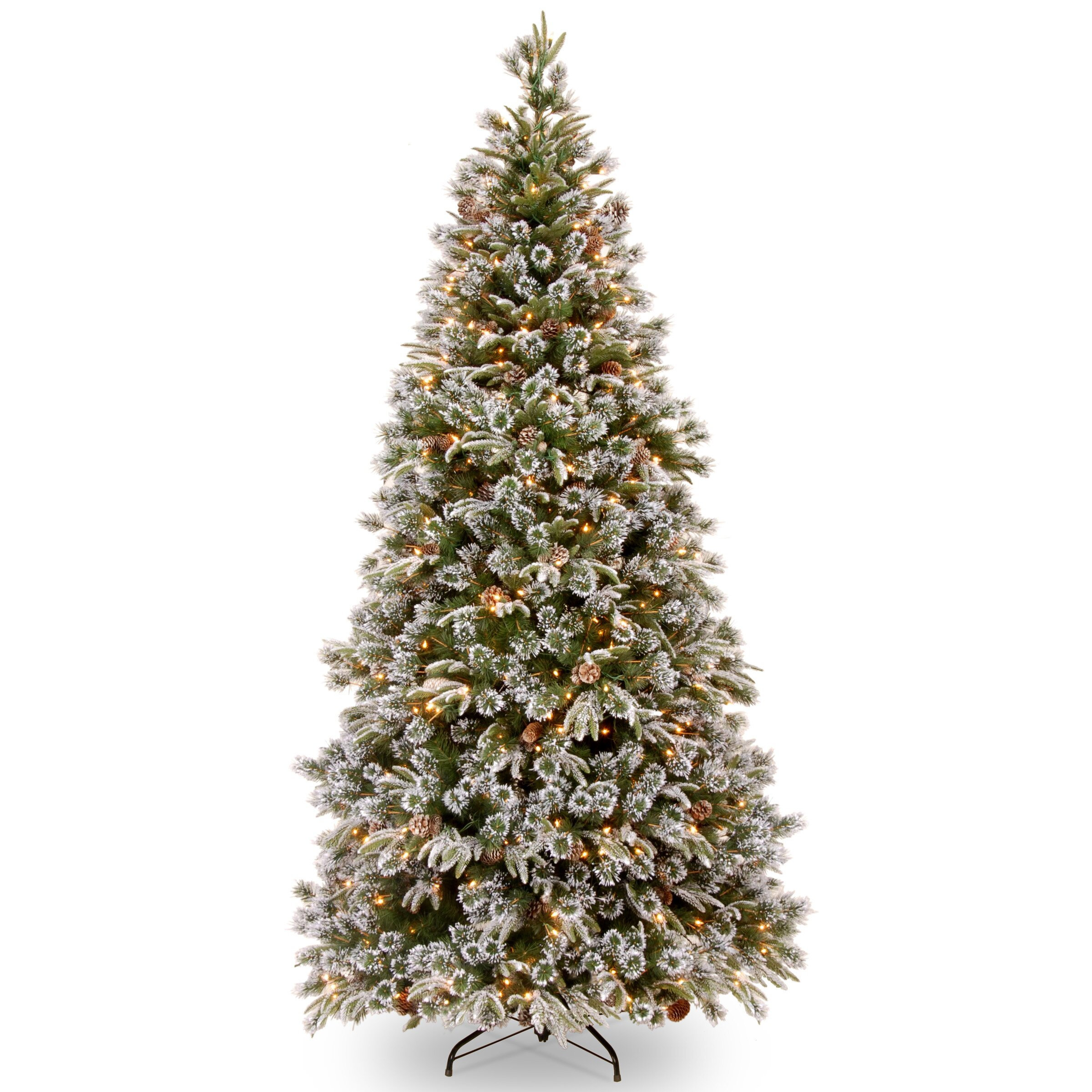 Liberty Pine 7.5' Green Artificial Christmas Tree with 500 ...