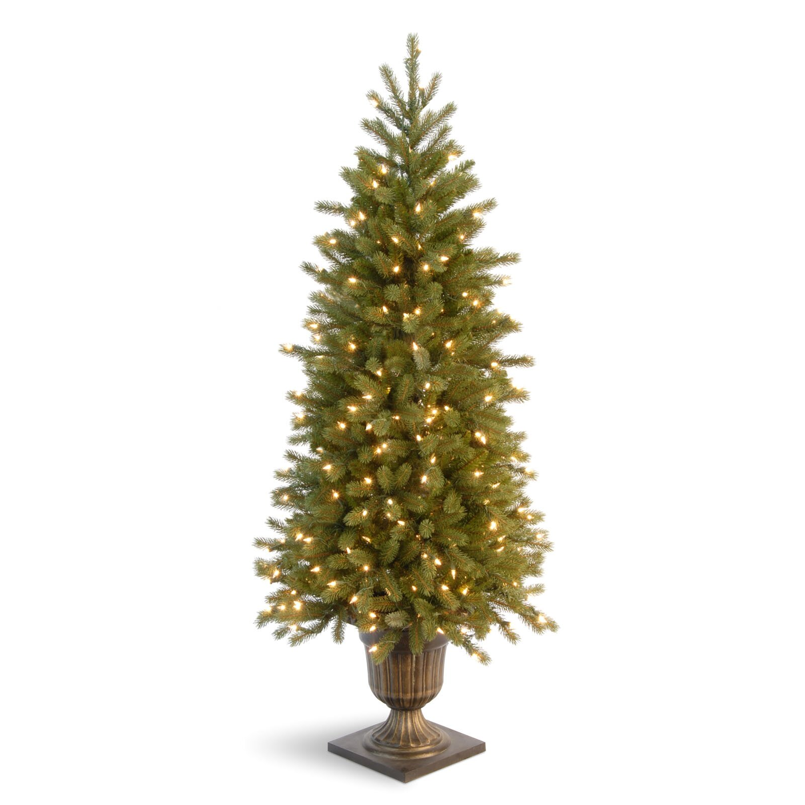 Fraser Fir Christmas Trees: Jersey Fraser Fir 4' Green Entrance Artificial Christmas