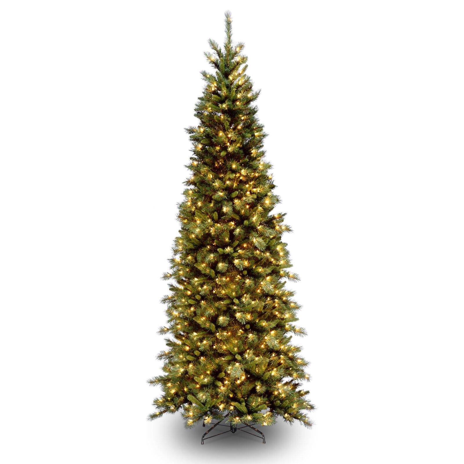 Pre Lit Slim Christmas Trees On Sale