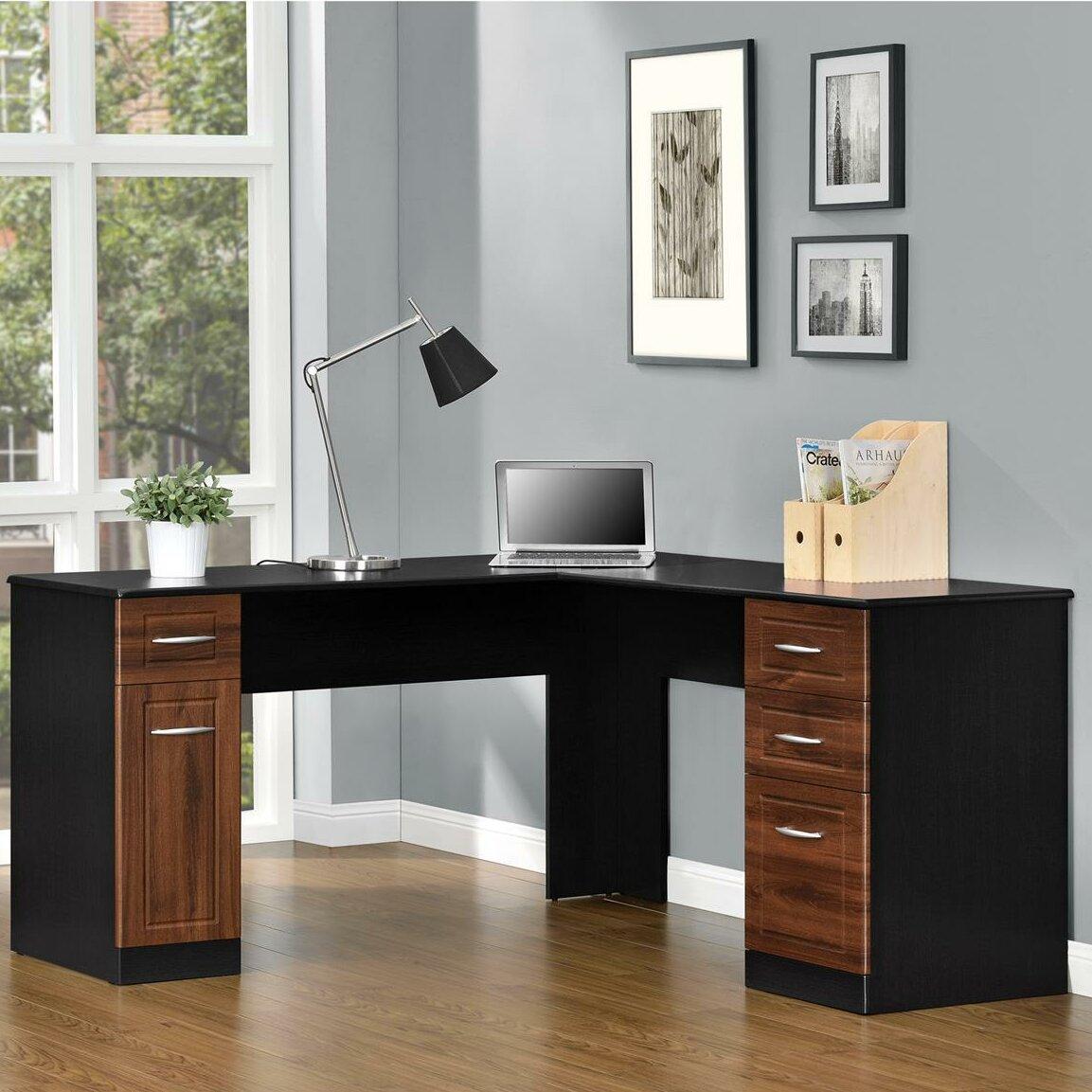 Avalon Computer Desk Wayfair