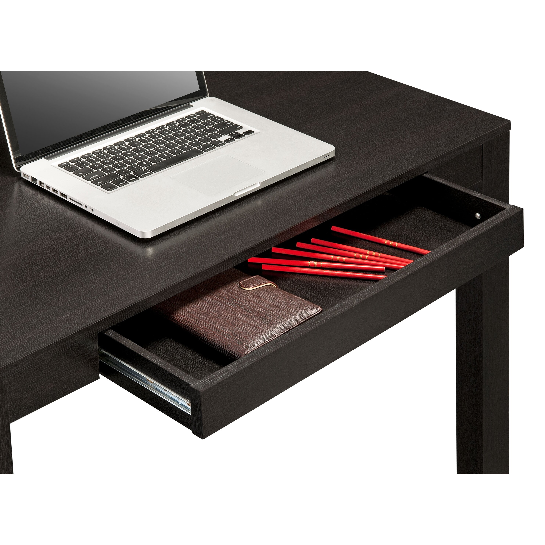 Altra Parsons Writing Desk In Black Oak Amp Reviews Wayfair