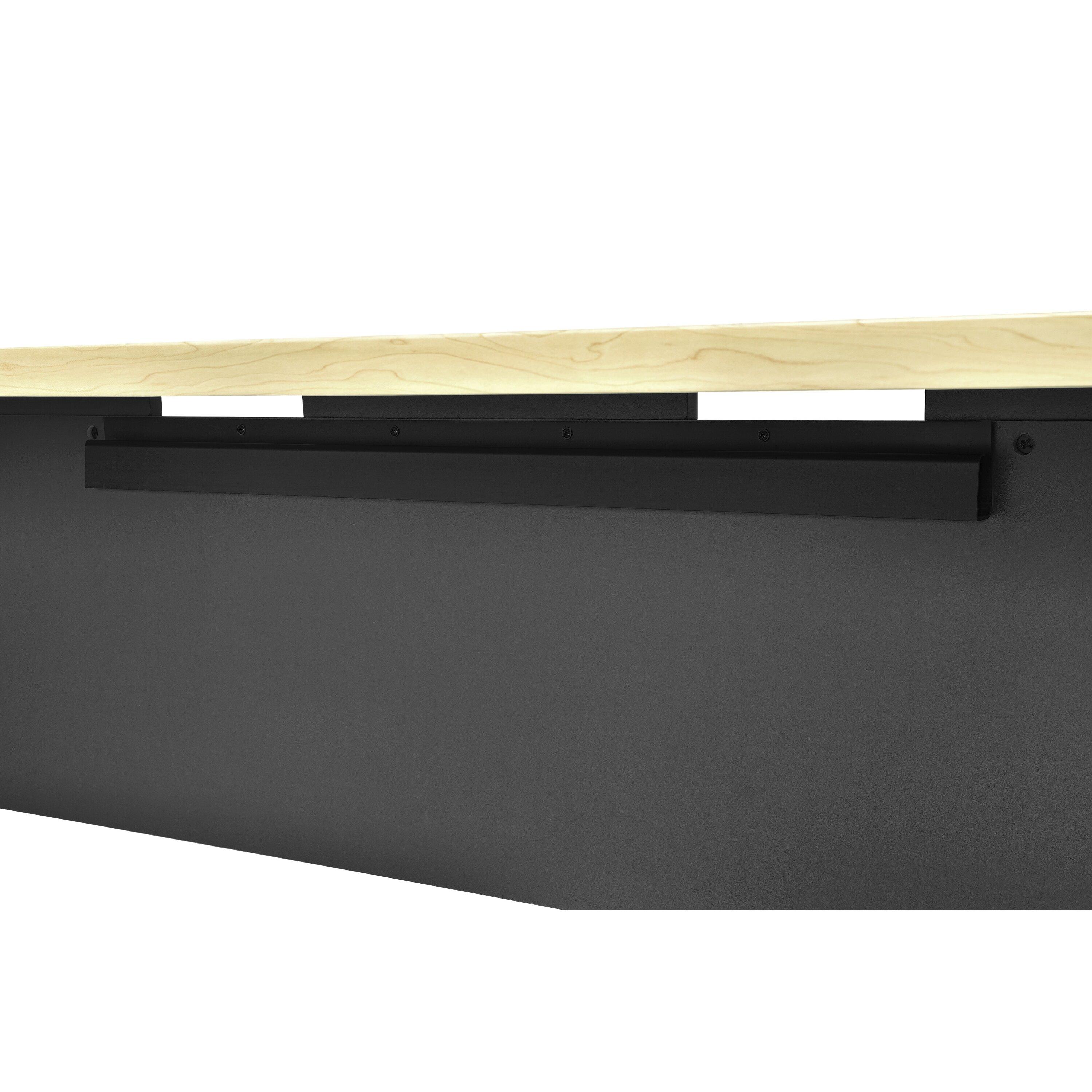 Benjamin Desk Shell With Large Work Surface Wayfair