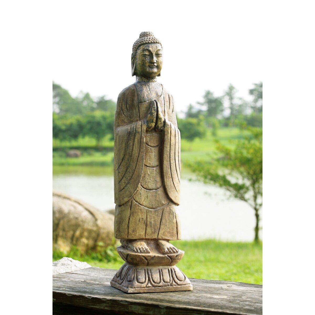 Wayfair Garden Statues: Meditating Buddha Garden Statue