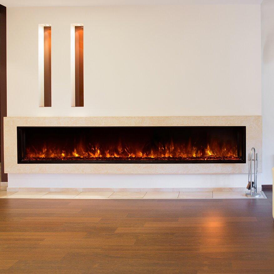 Landscape Fullview Series Electric Fireplace Wayfair