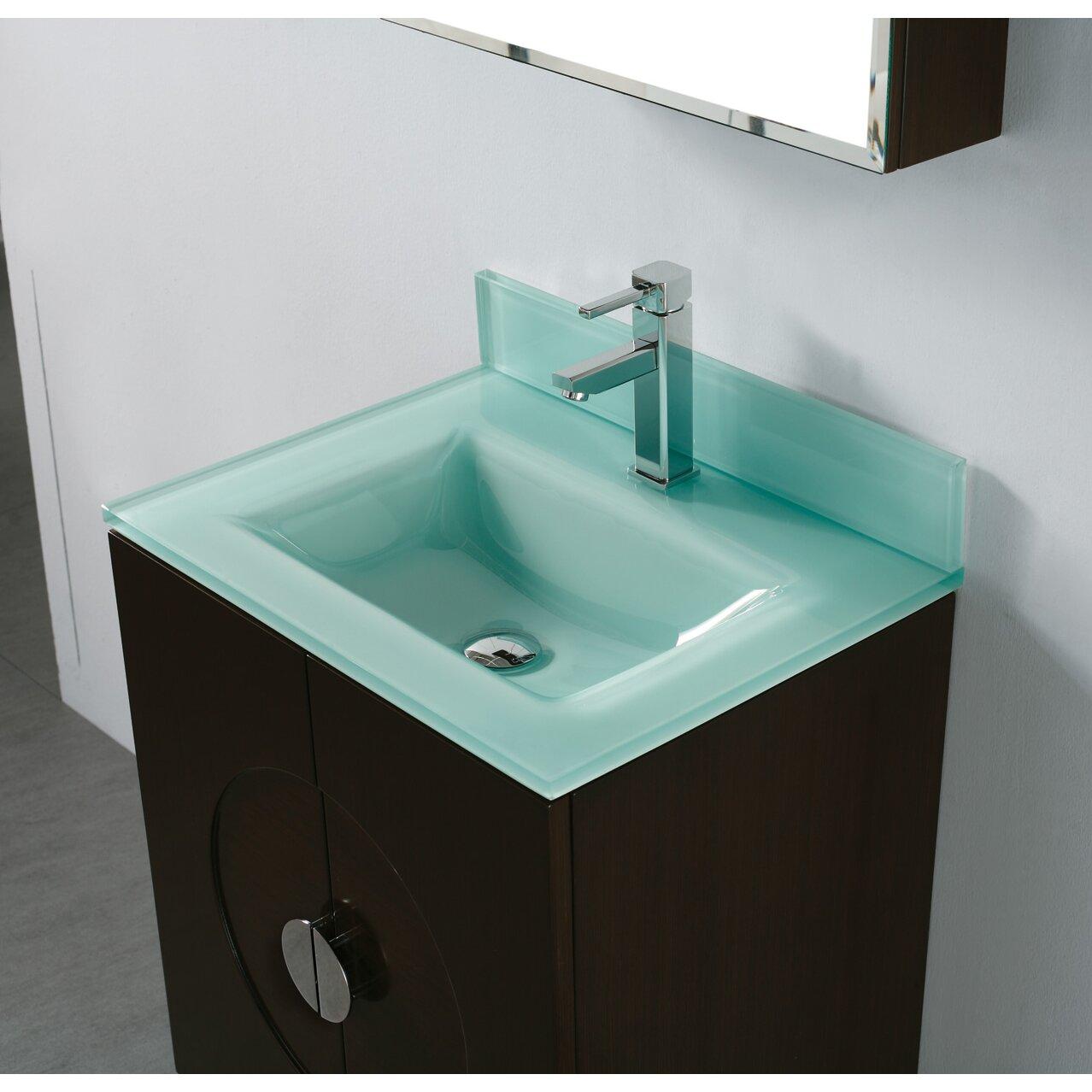 Caserta 24 Single Bathroom Vanity Set With Mirror Wayfair