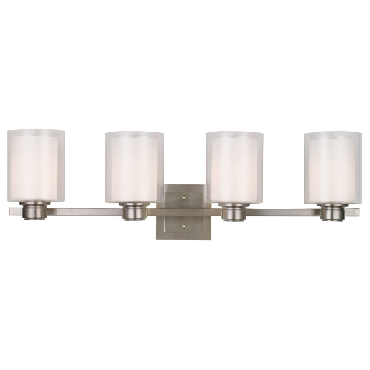 Oslo 4 Light Bath Vanity Light Wayfair