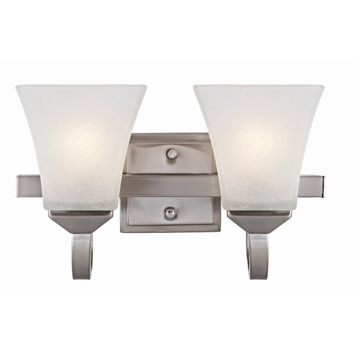 Design House Torino 2 Light Bath Vanity Light & Reviews Wayfair