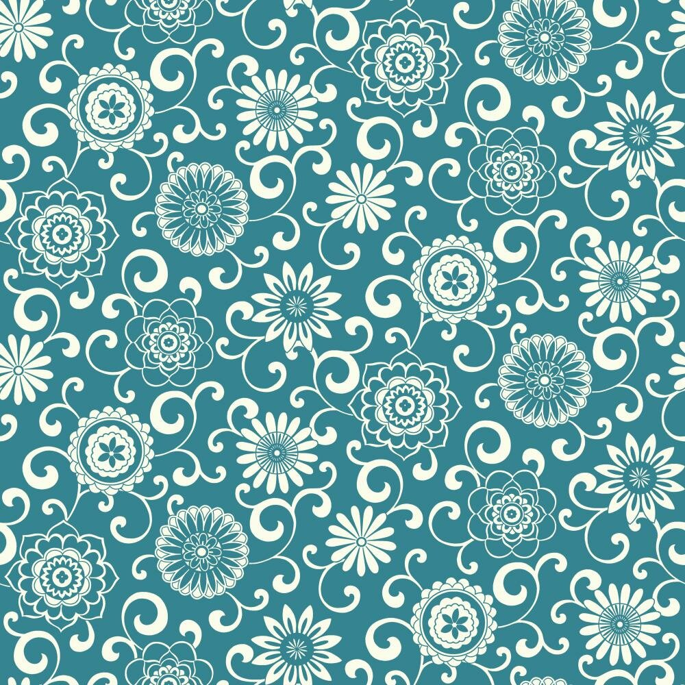 "Waverly Small Prints Pom Pom Play 33' X 20.5"" Botanical"