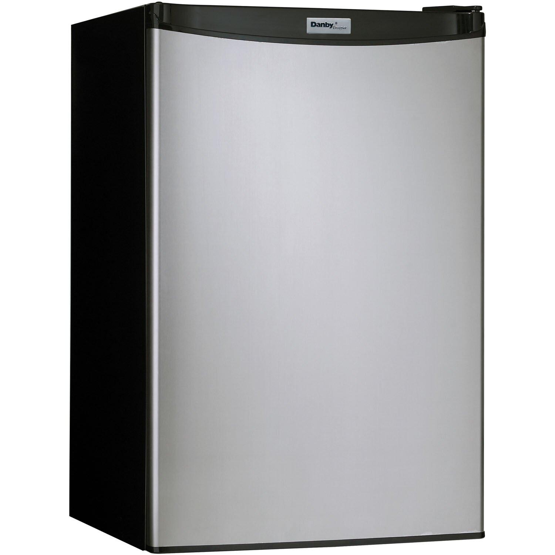 4 4 Cu Ft Compact Refrigerator With Freezer Wayfair