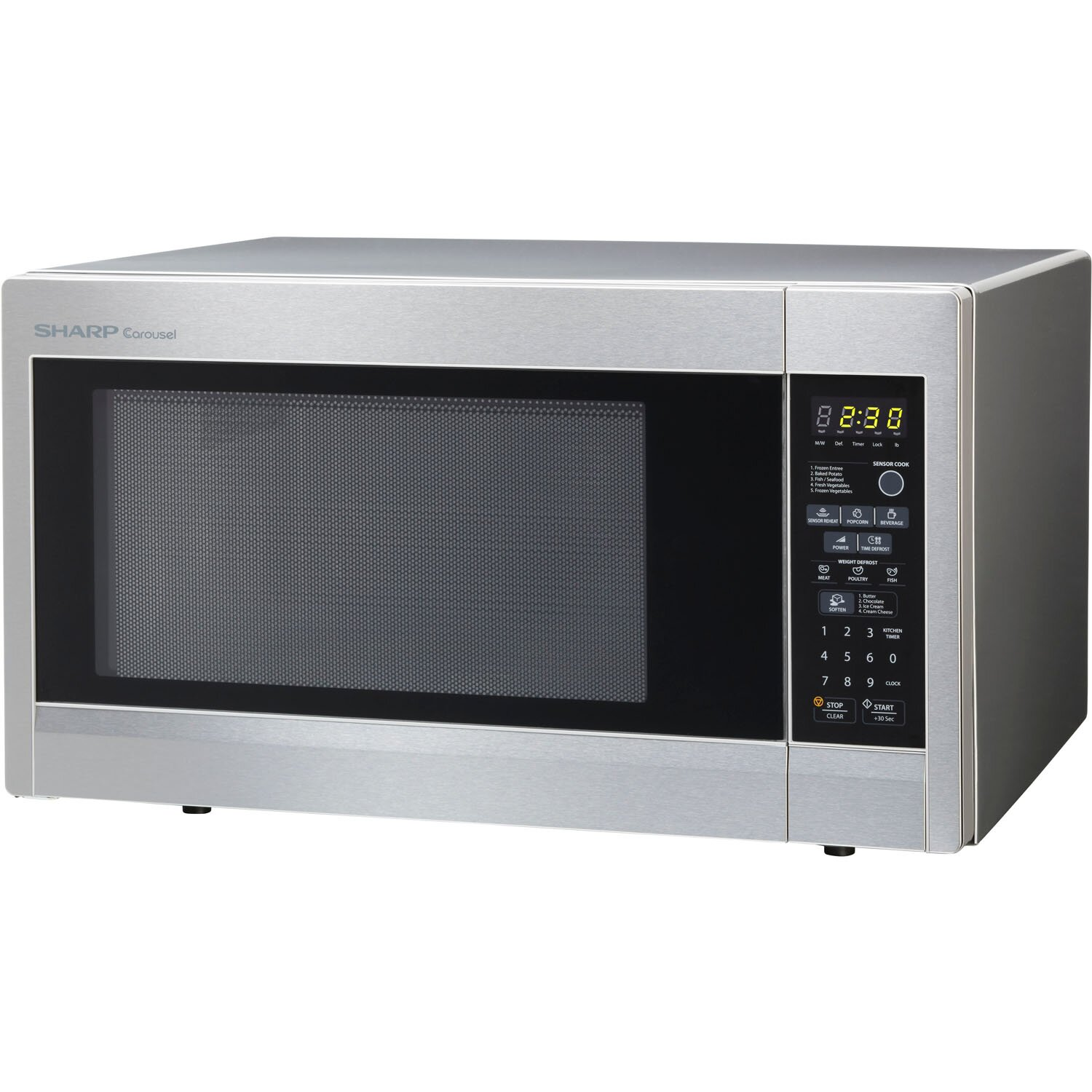 First Countertop Microwave : Sharp 1.8 Cu. Ft. 1100W Countertop Microwave