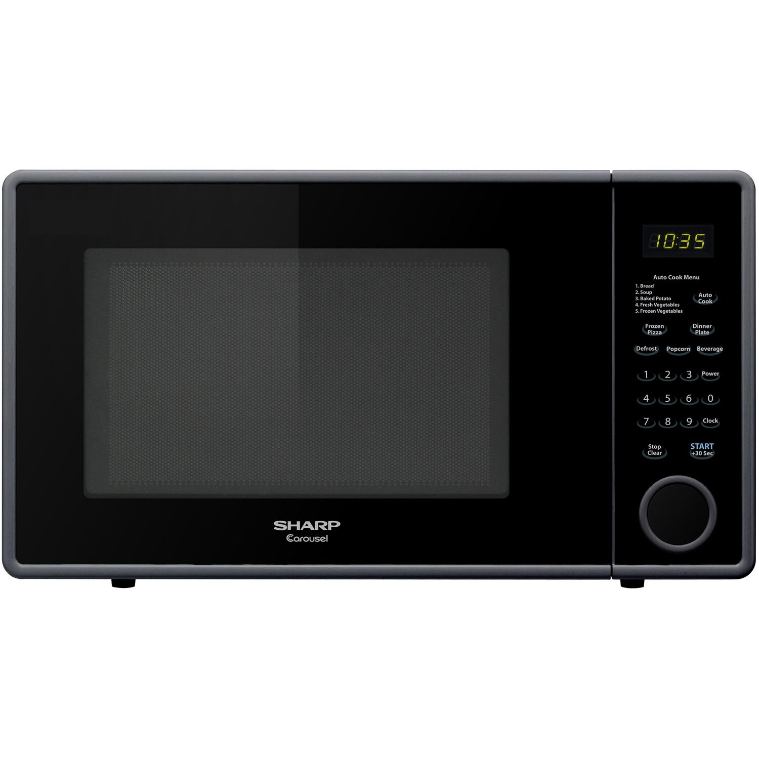 Countertop Microwave At Best Buy : Sharp 1.1 Cu. Ft. 1000W Countertop Microwave