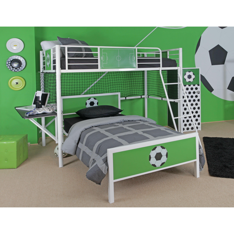 goal keeper twin loft bed wayfair. Black Bedroom Furniture Sets. Home Design Ideas