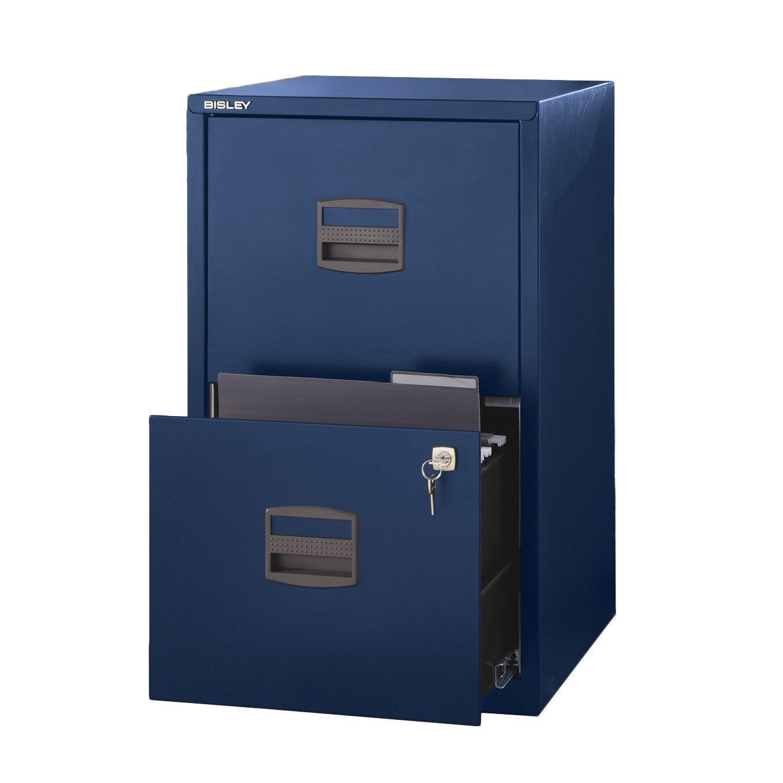 Bisley Two Drawer Steel Home Filing Cabinet Orange File2: Bindertek 2-Drawer Steel Home Or Office Filing Cabinet