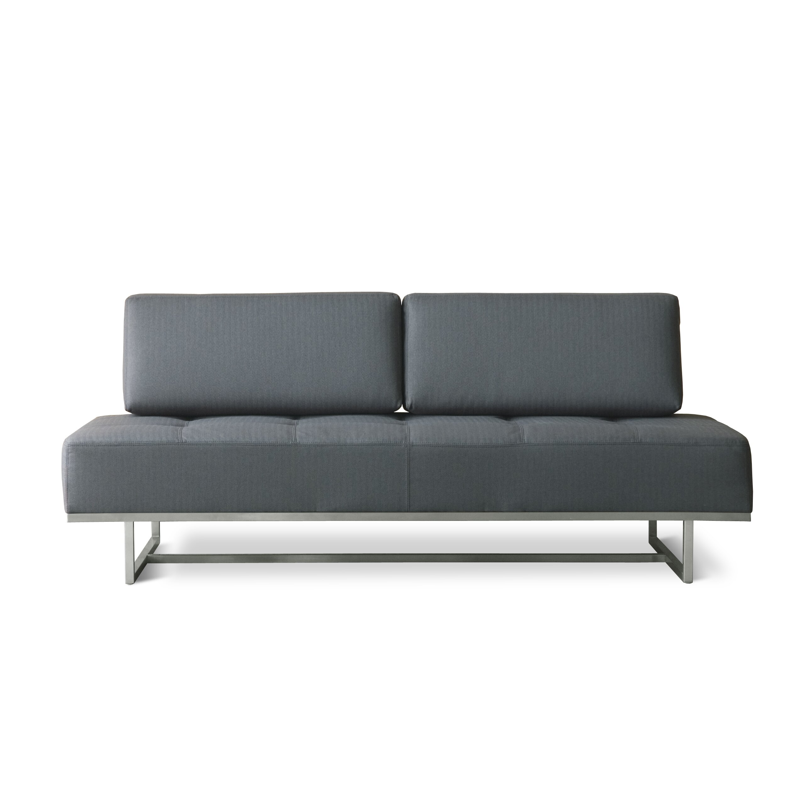 Gus modern james convertible sofa allmodern for Modern lounge sofa