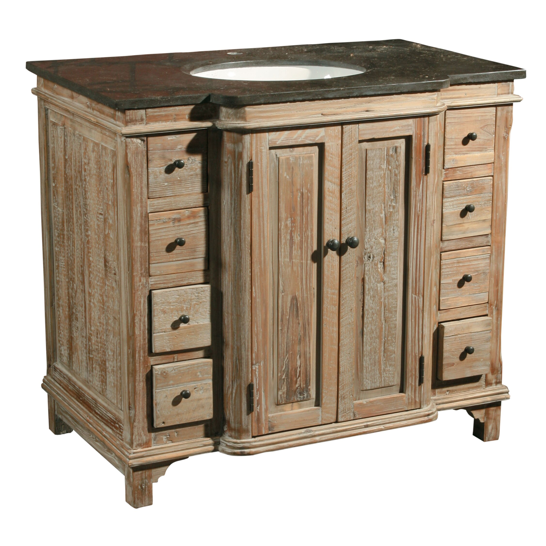 Furniture classics ltd 36 single reclaimed pine bathroom - Wayfair furniture bathroom vanities ...