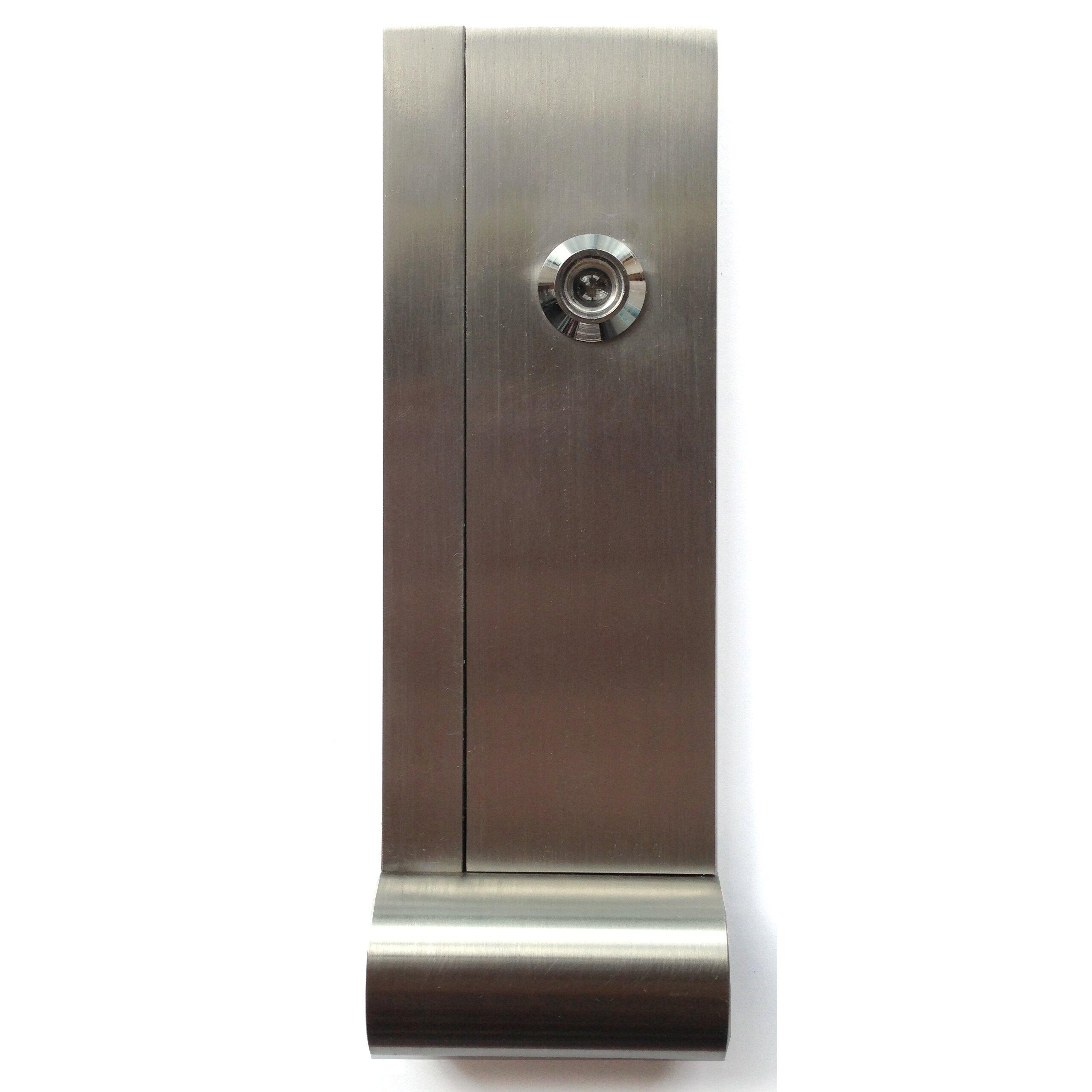 Door knocker wayfair - Door knocker with viewer ...