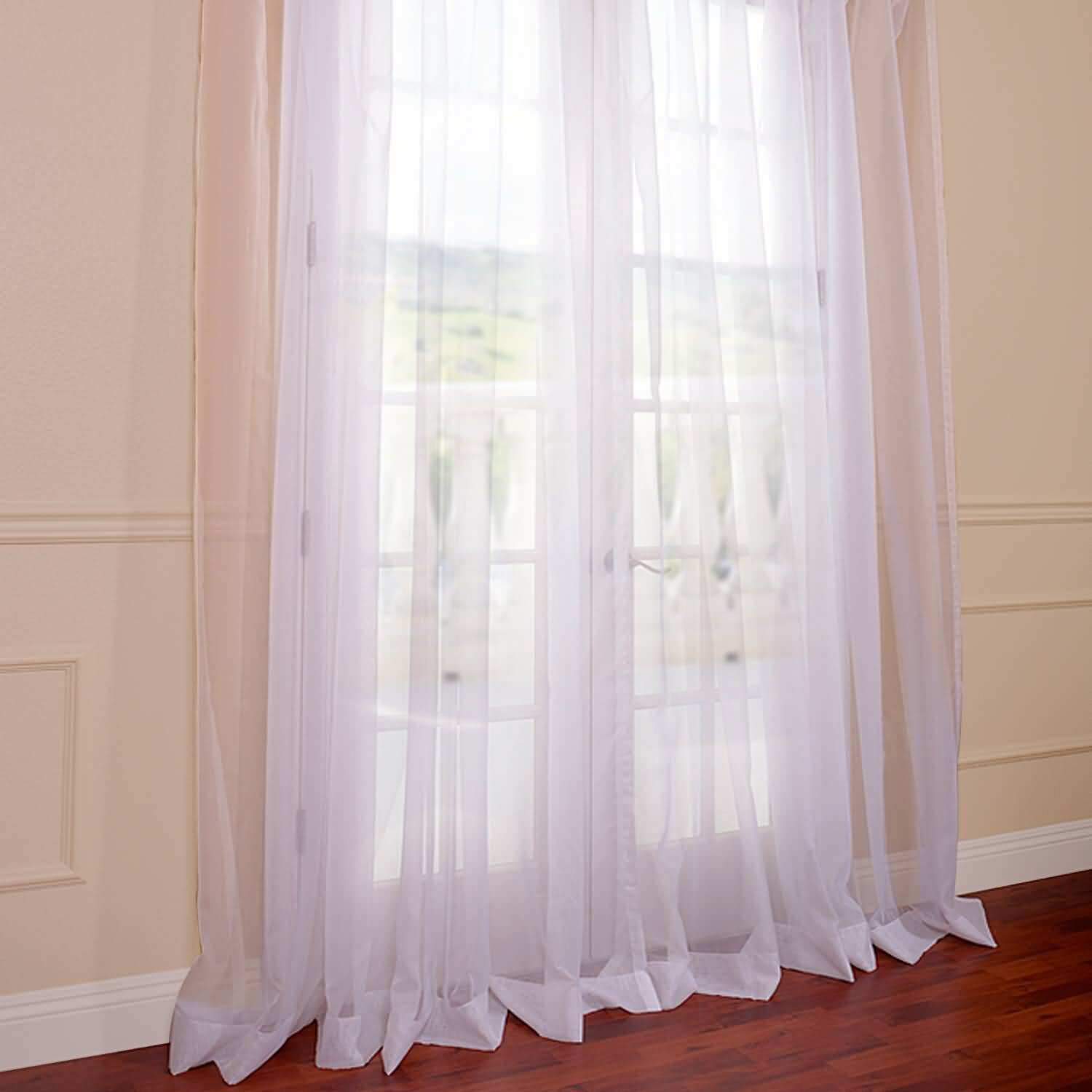 Grommet Sheer Curtains And Beautiful Curtain Sheers For Window Decor ...