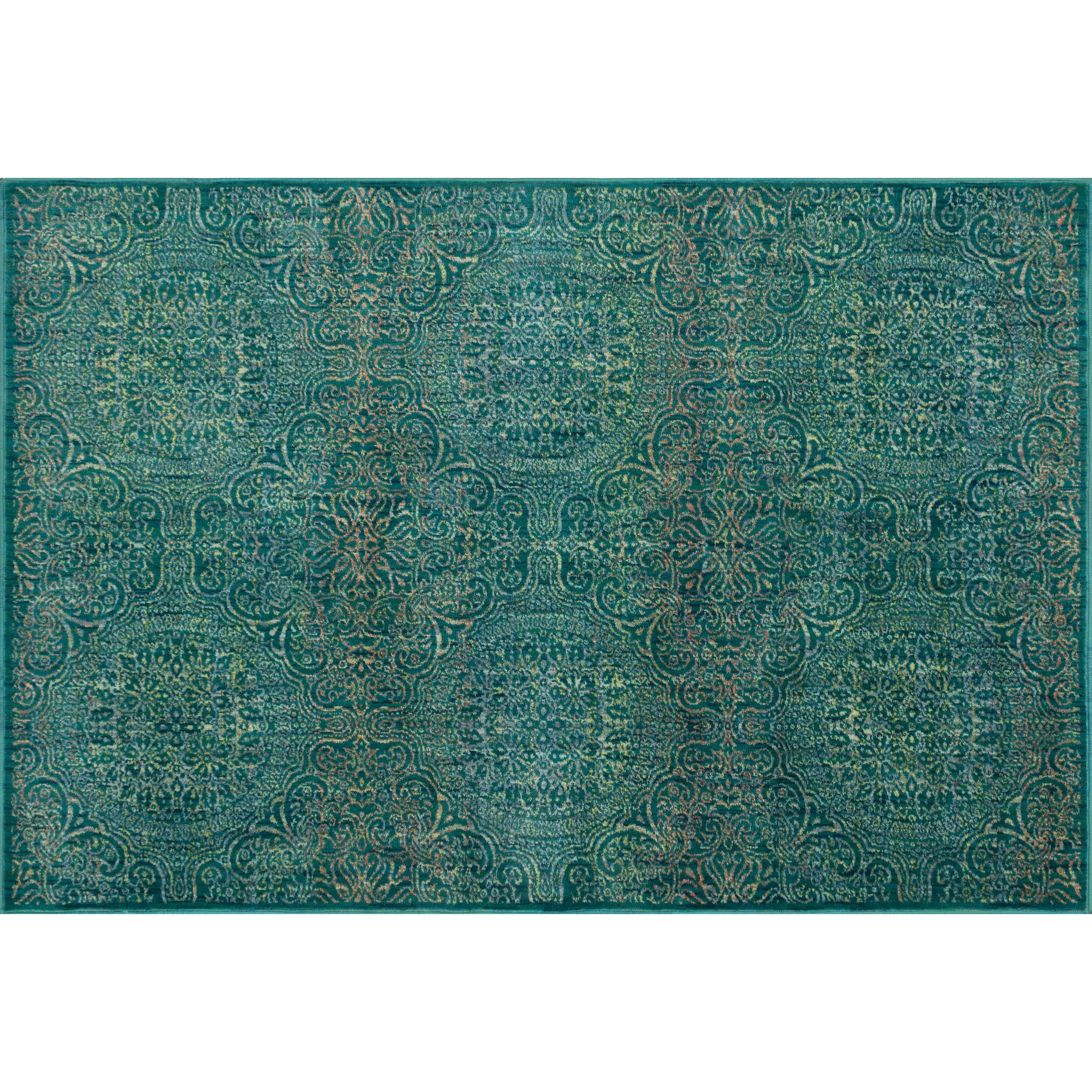 Loloi Rugs Madeline Teal/Multi Rug & Reviews