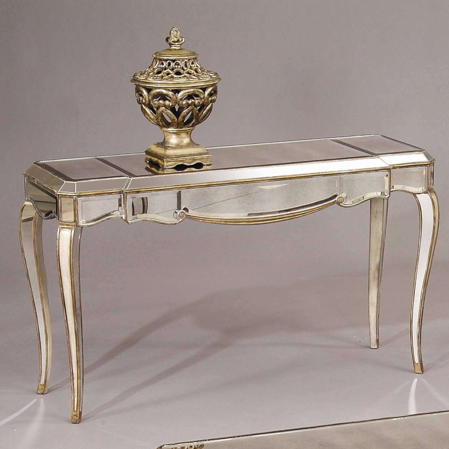 Mirrored Console Table: Collette Console Table