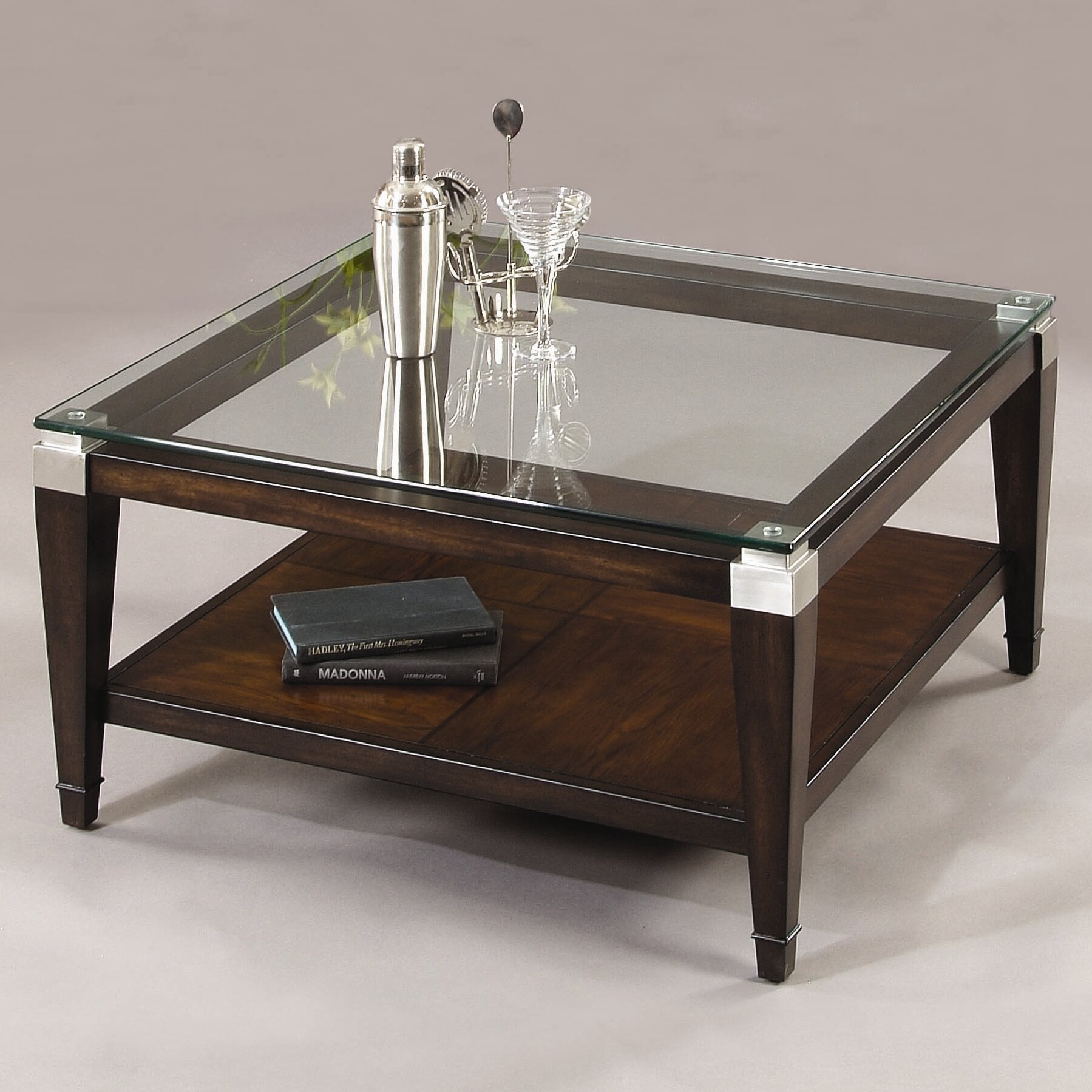 Square Coffee Table By Latitude Run: Bassett Mirror Dunhill Coffee Table & Reviews