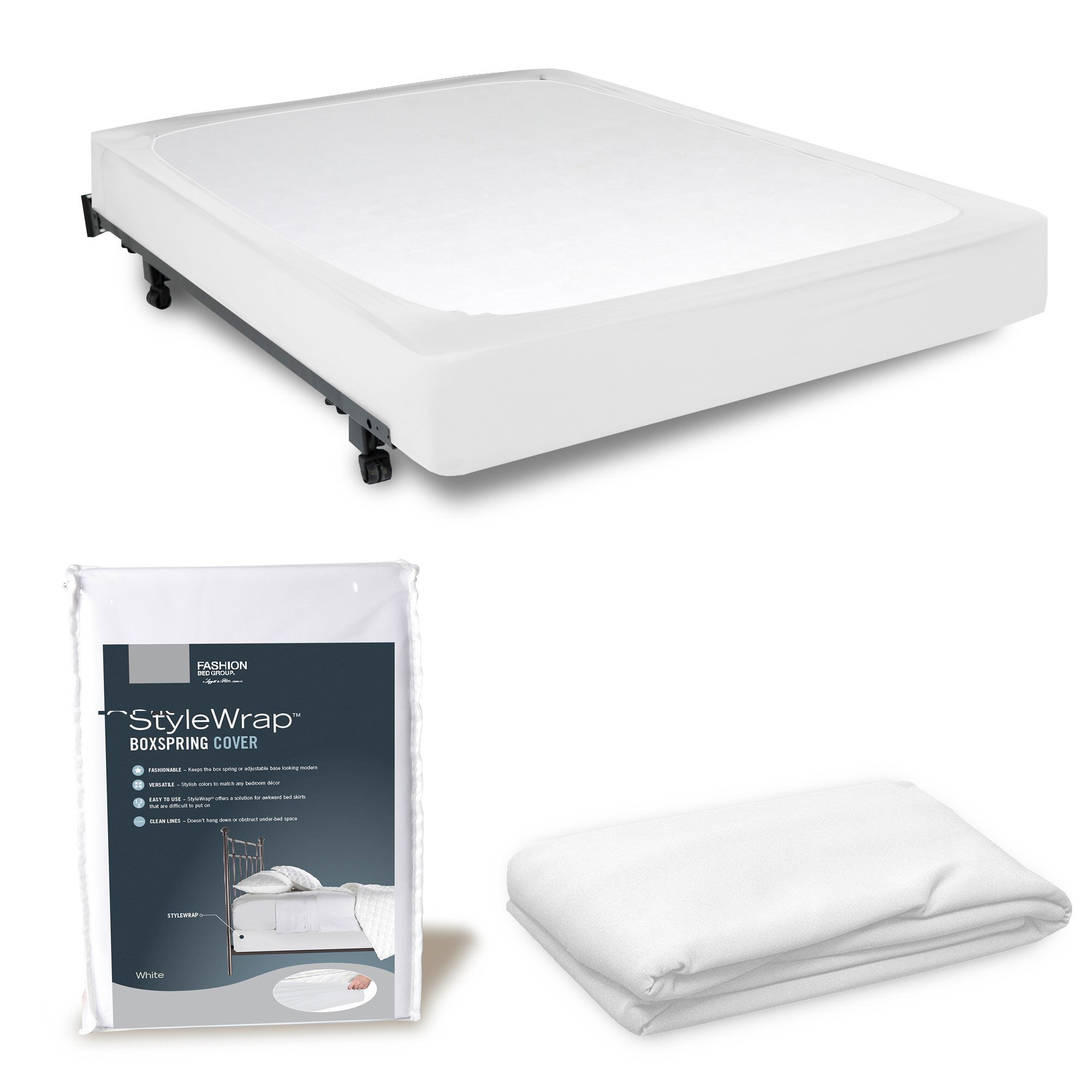 StyleWrap Box Spring Cover