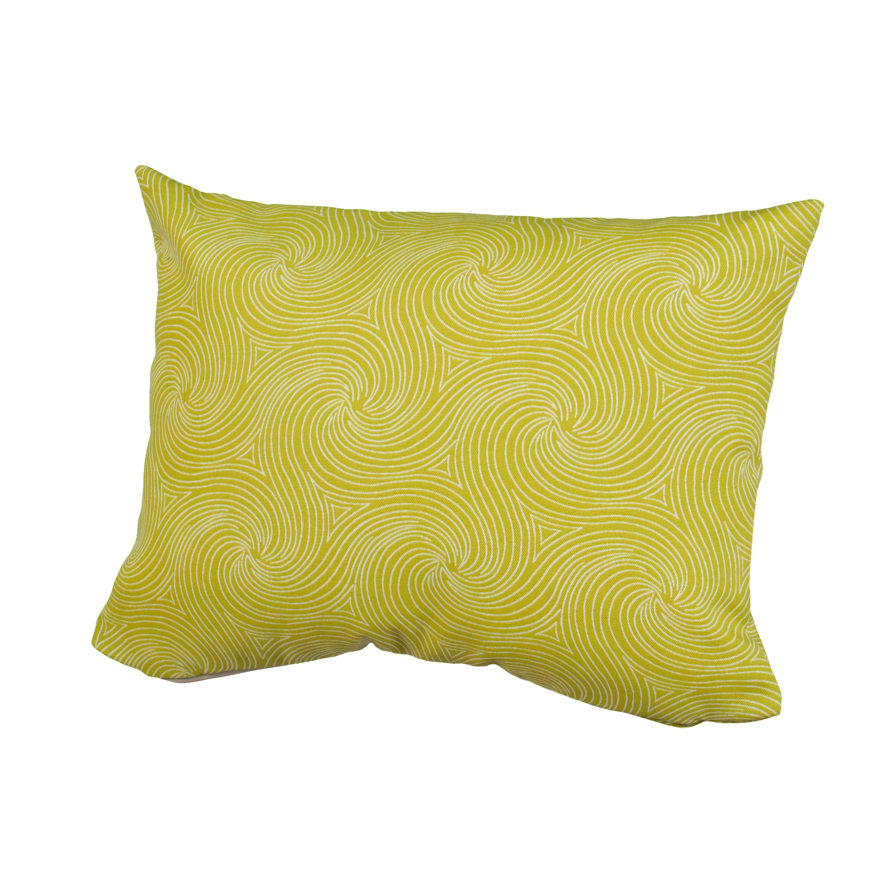 Waves Indoor Outdoor Throw Pillow