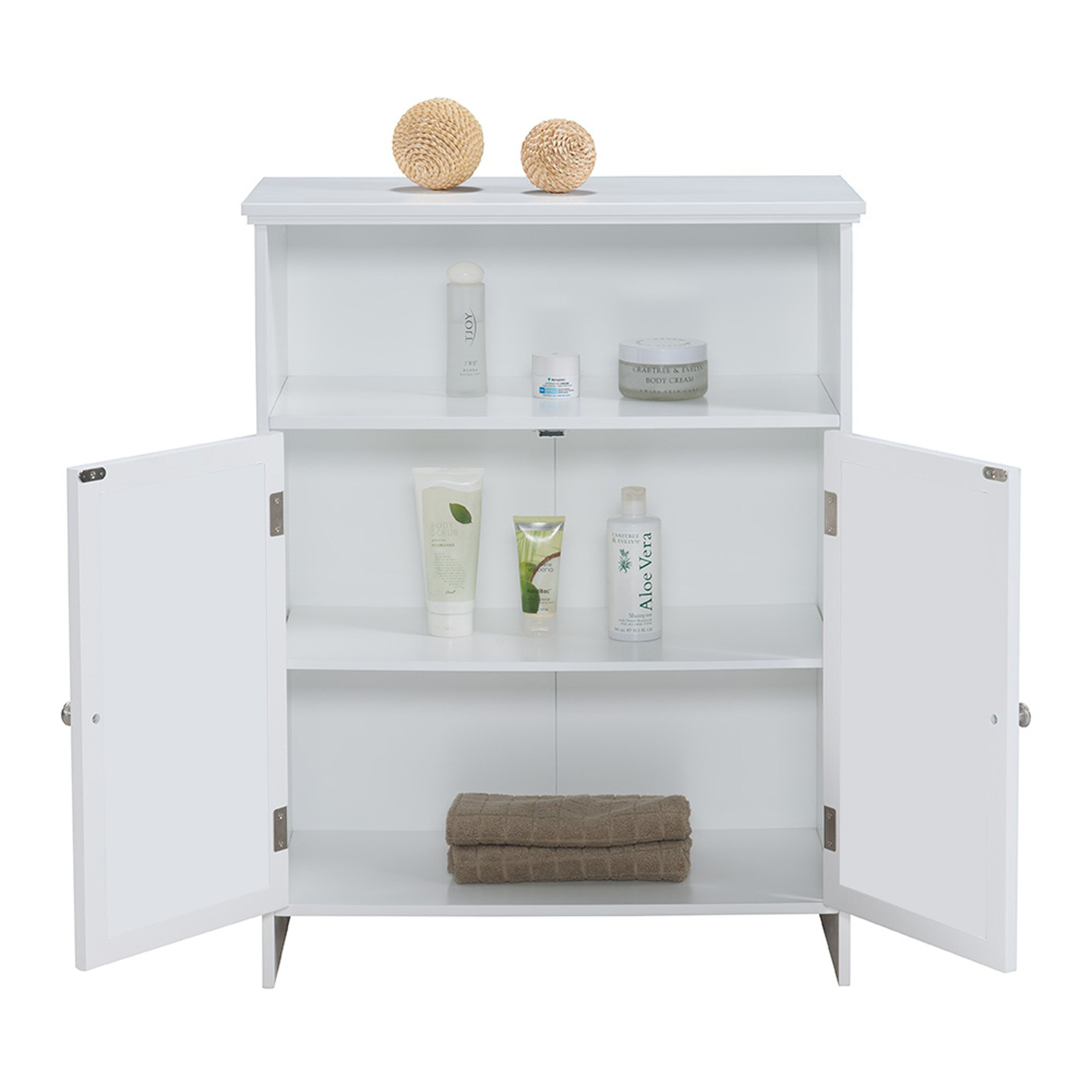 croix x 32 mirrored free standing cabinet reviews