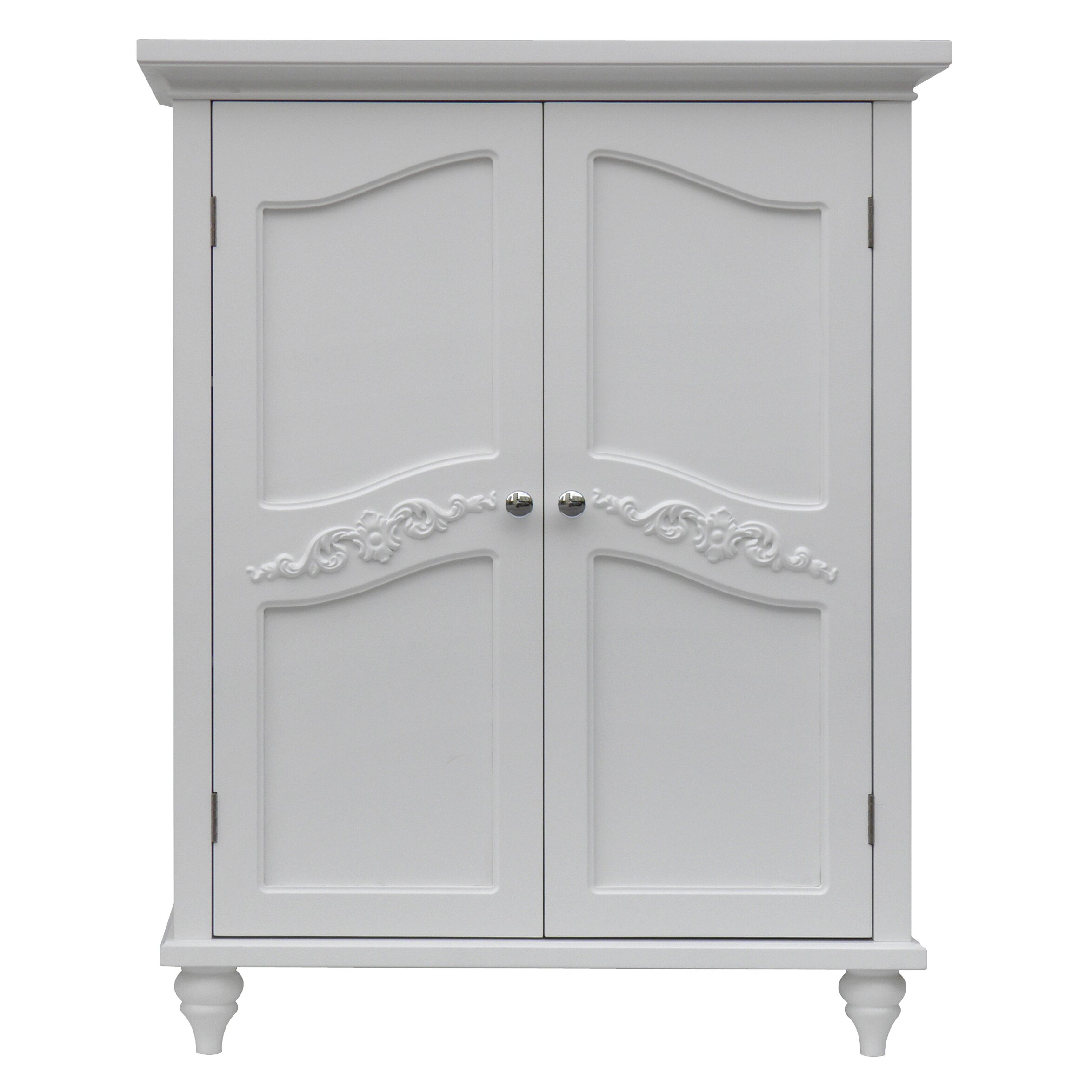"Wayfair Free Standing Kitchen Cabinets: Elegant Home Fashions Versailles 27"" X 34"" Free Standing"