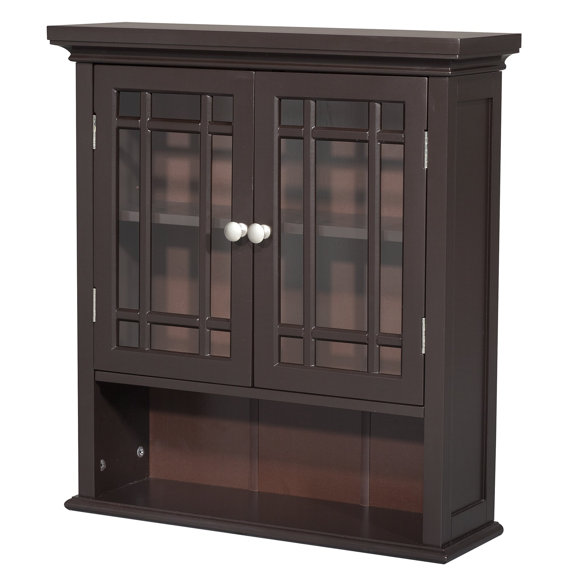elegant home fashions neal 22 x 24 wall mounted cabinet. Black Bedroom Furniture Sets. Home Design Ideas