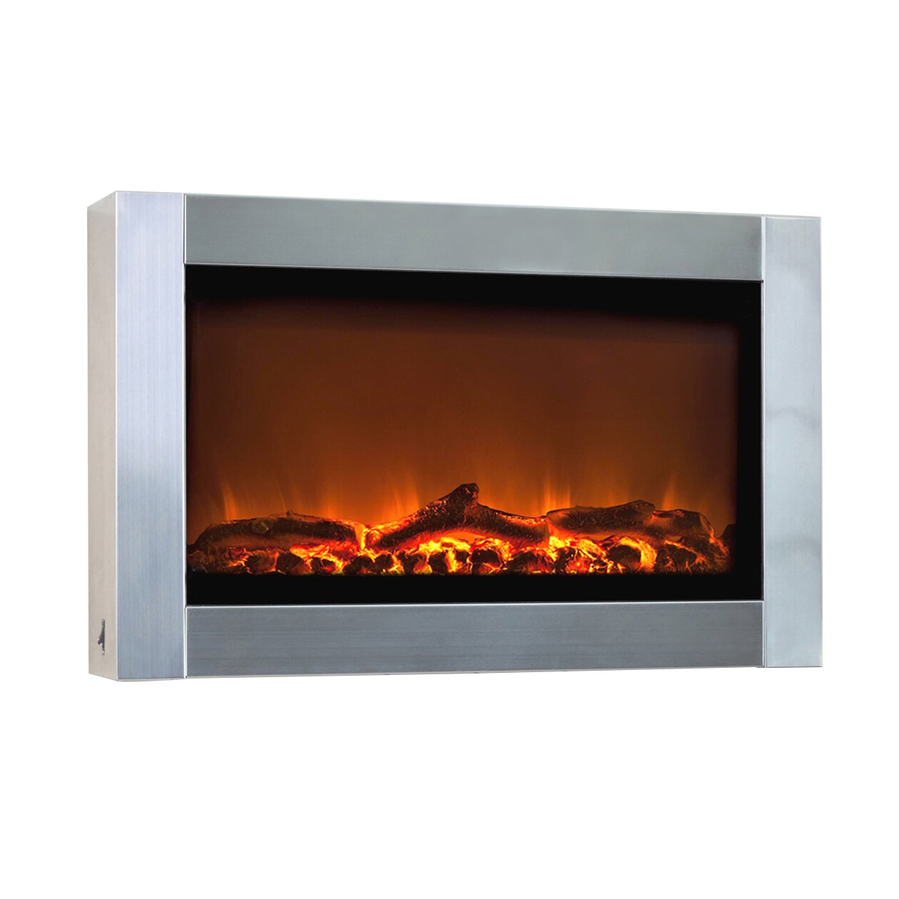 Fire Sense Wall Mounted Electric Fireplace & Reviews