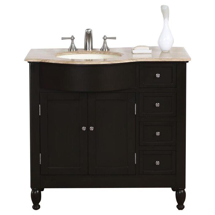 Hamilton 38 single bathroom vanity set wayfair for Bathroom vanities hamilton