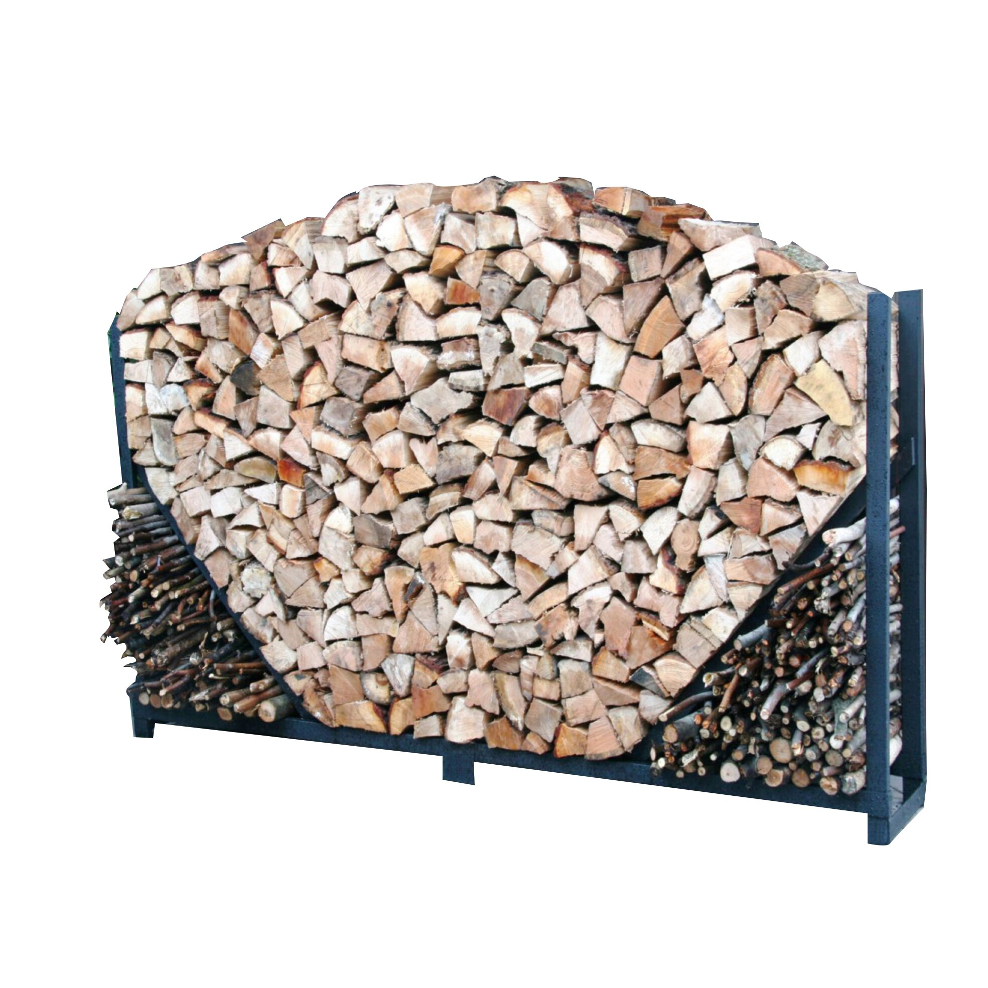 Steel Firewood Rack | Wayfair