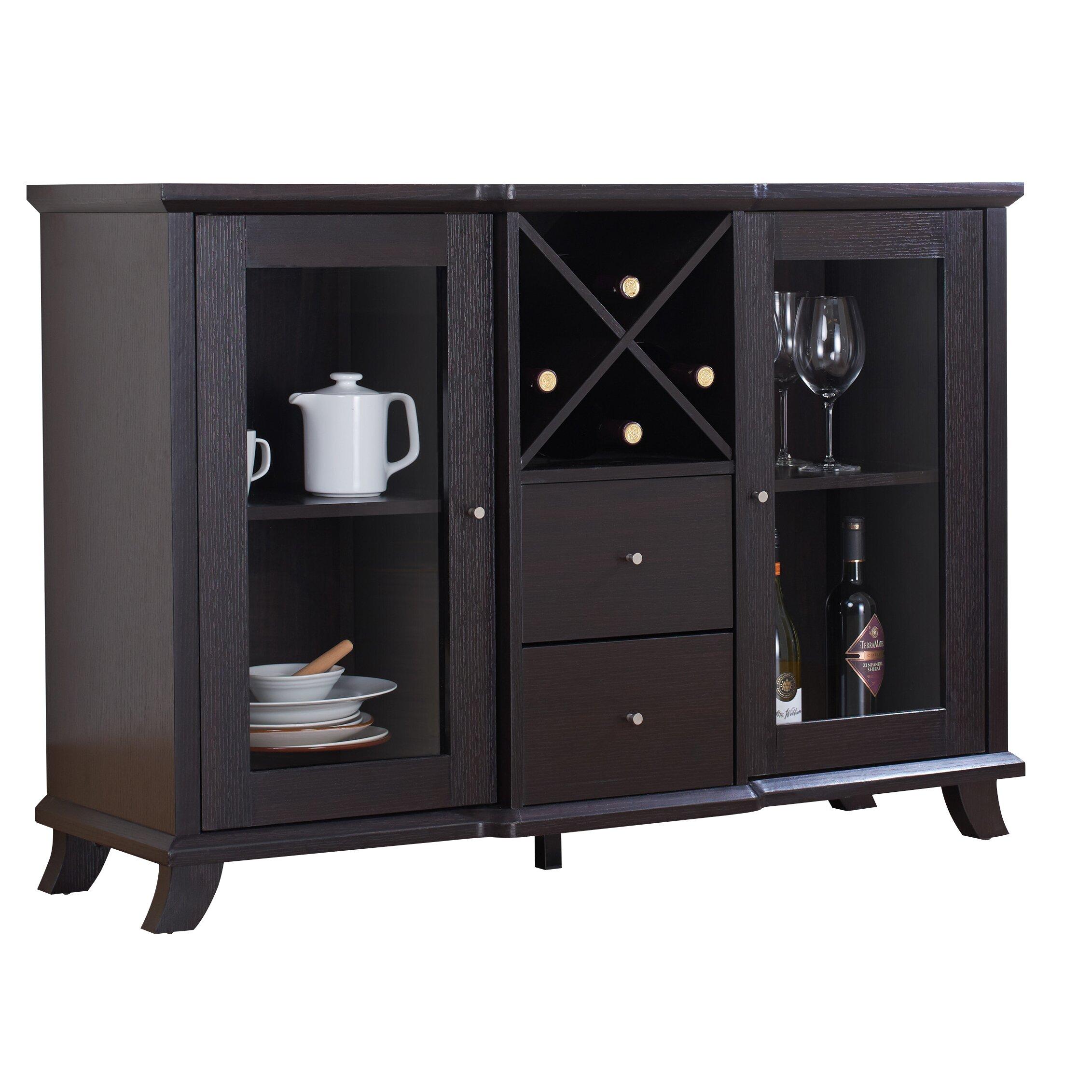 Cheap Dining Room Buffet Dining Room Buffet Cabinet: Hokku Designs Venetta Dining Buffet Cabinet & Reviews