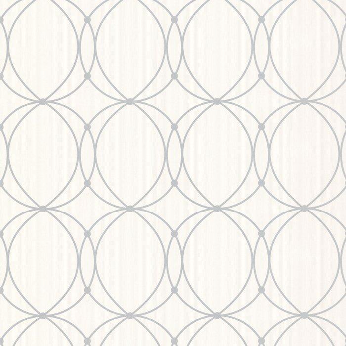 Darcy pearl 33 39 x 20 5 geometric wallpaper wayfair for Wayfair bathroom wallpaper