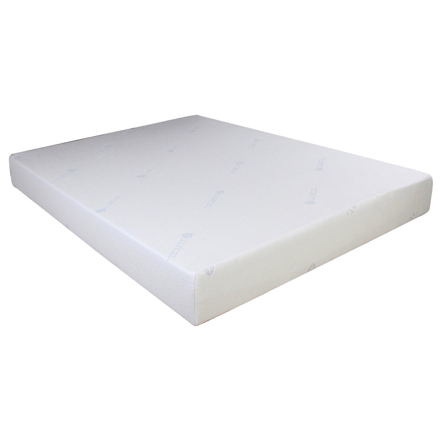 """Cool Tencel 8"""" Gel Memory Foam Mattress"""