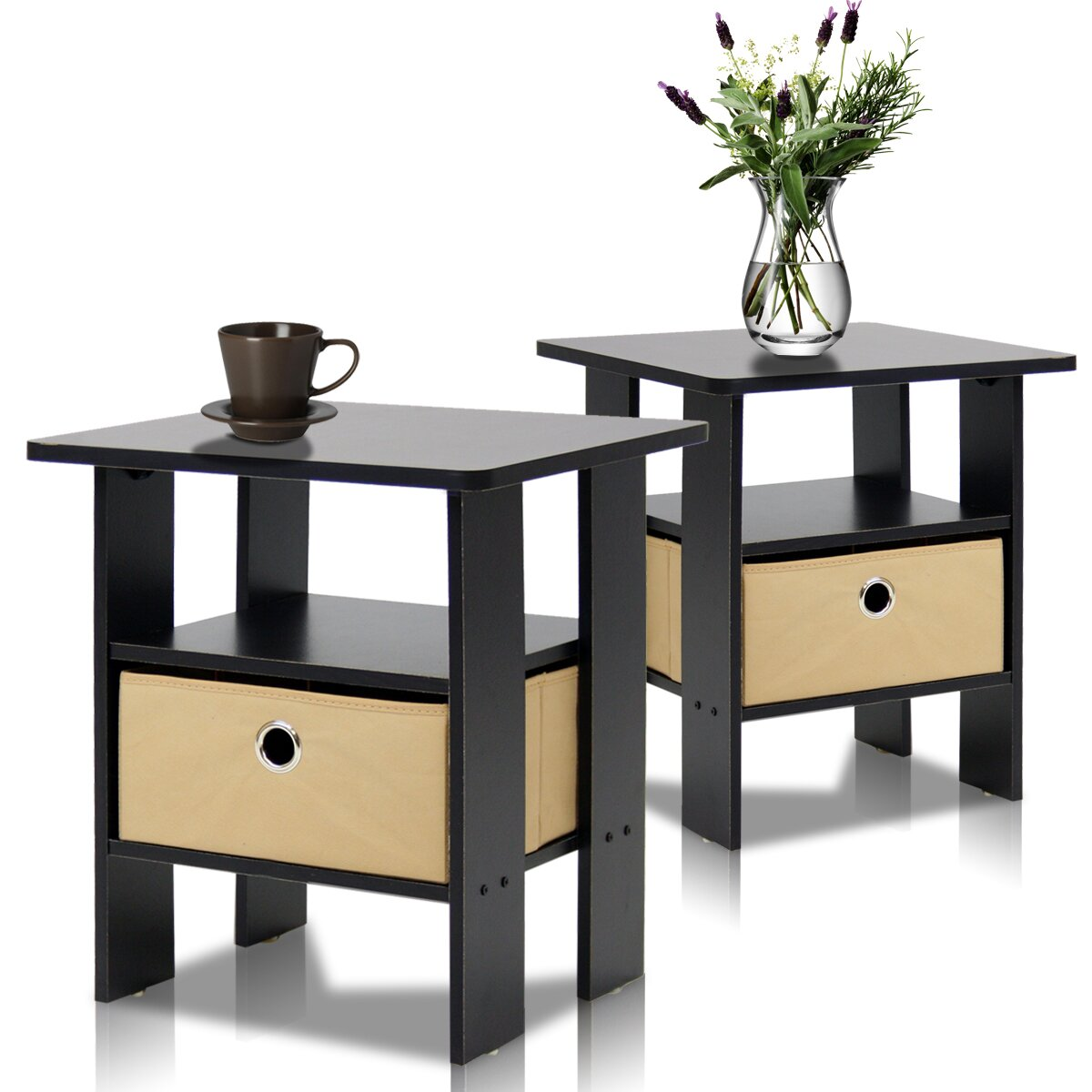 furniture living room furniture end tables furinno sku fvd1656