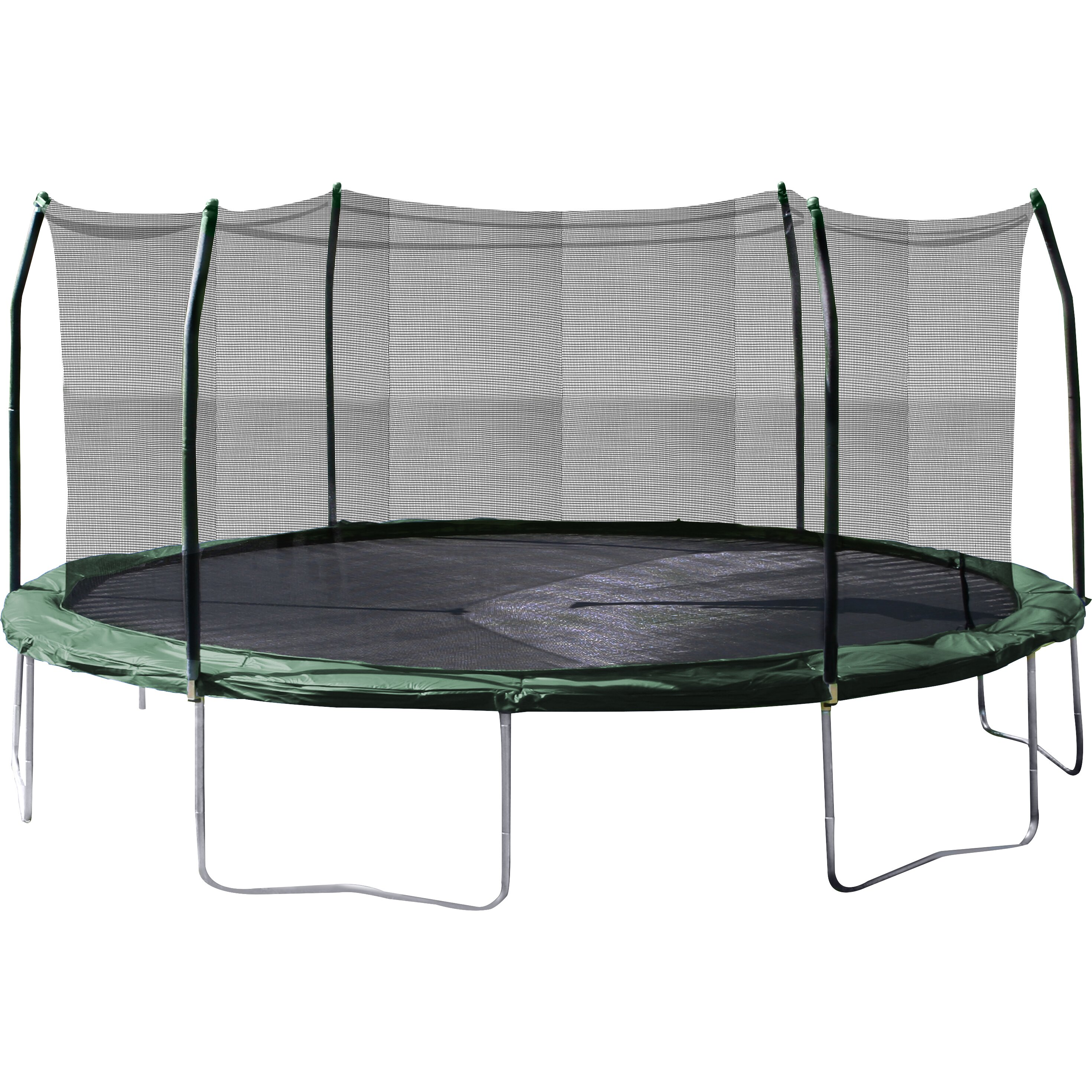 Skywalker Trampolines 15 Foot Sq Trampoline And Safety
