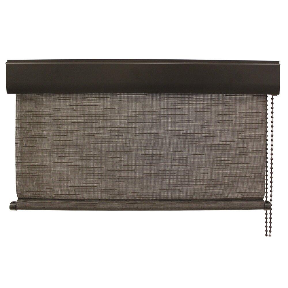 keystone fabrics exterior roller shade outdoor cord operated solar roll up shade wayfair