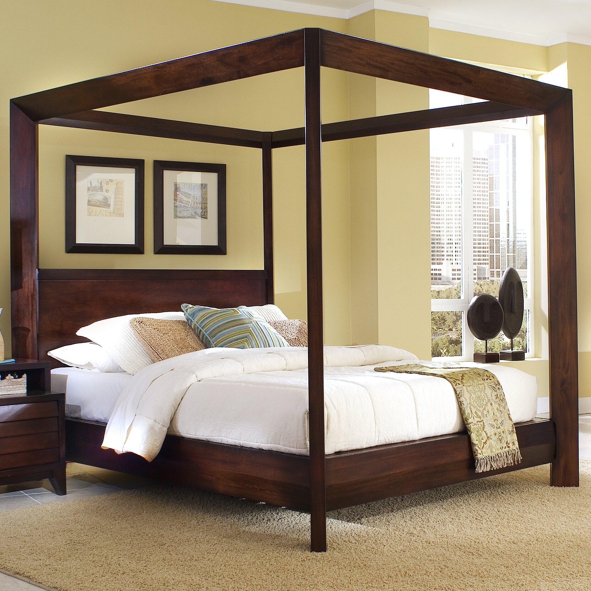 island canopy customizable bedroom set wayfair