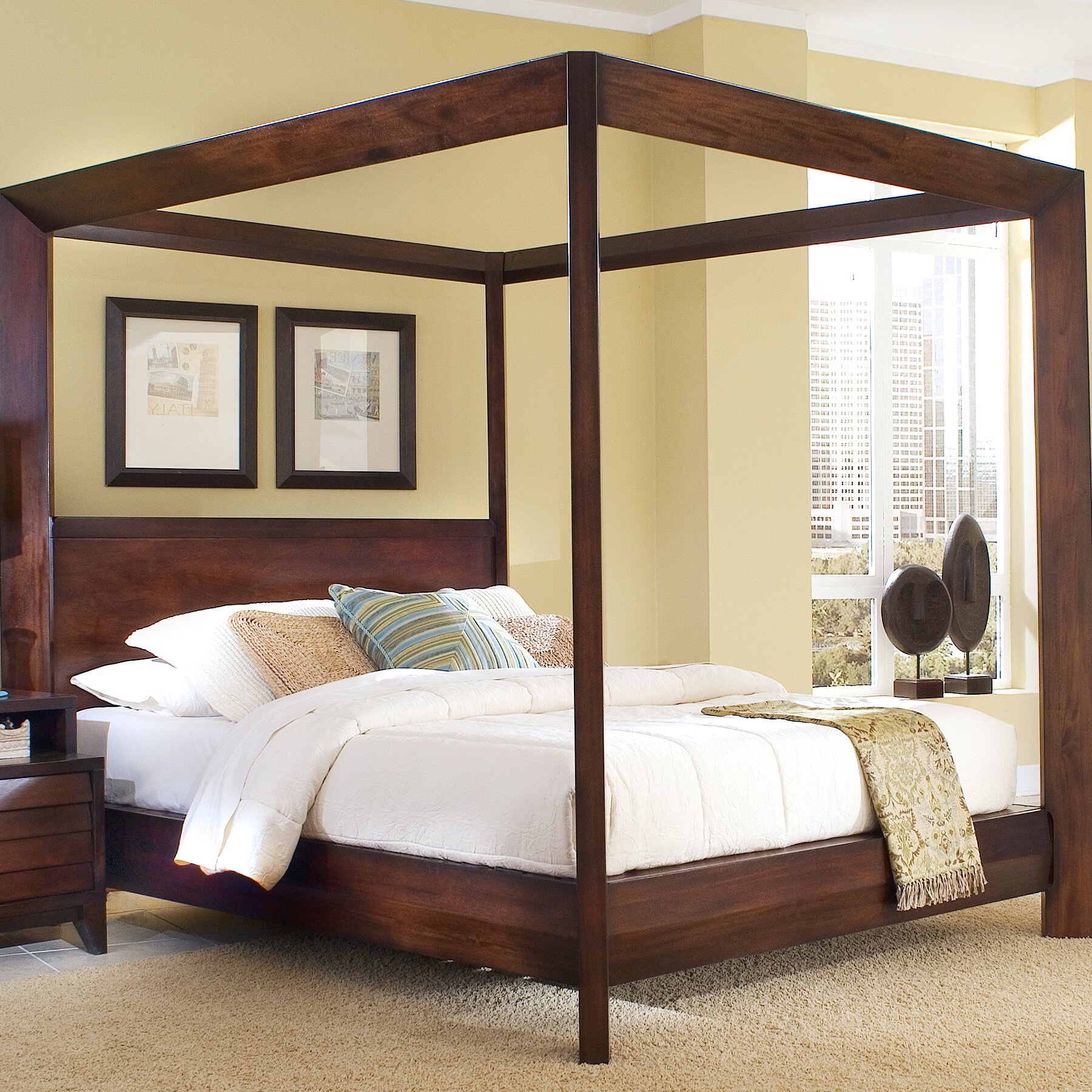 island canopy bed wayfair home styles bedford canopy bed amp reviews wayfair