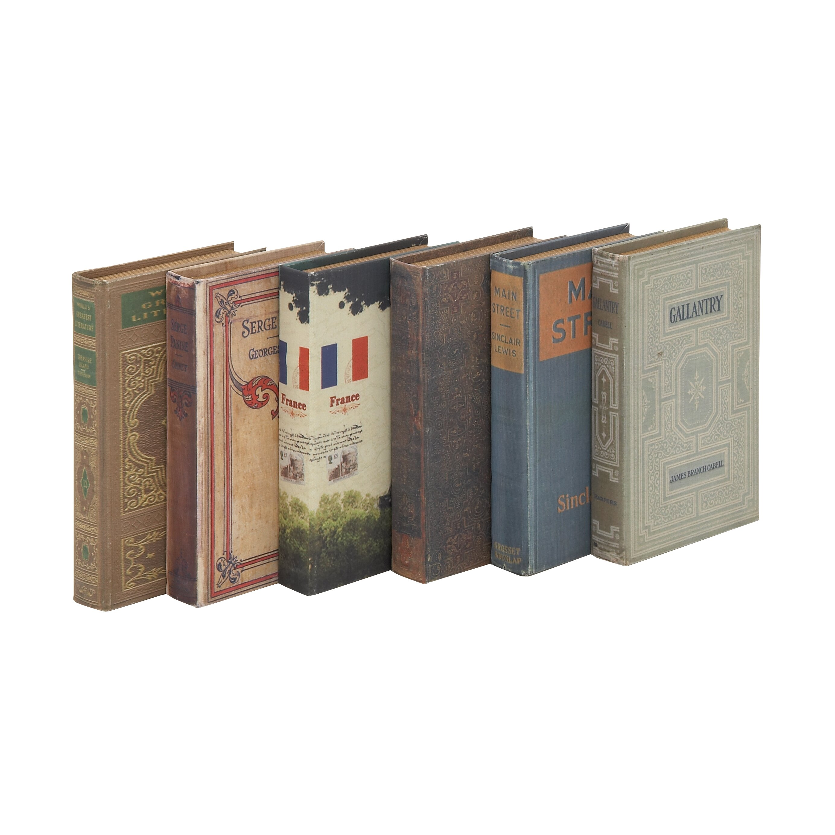 Wood Book Box Set