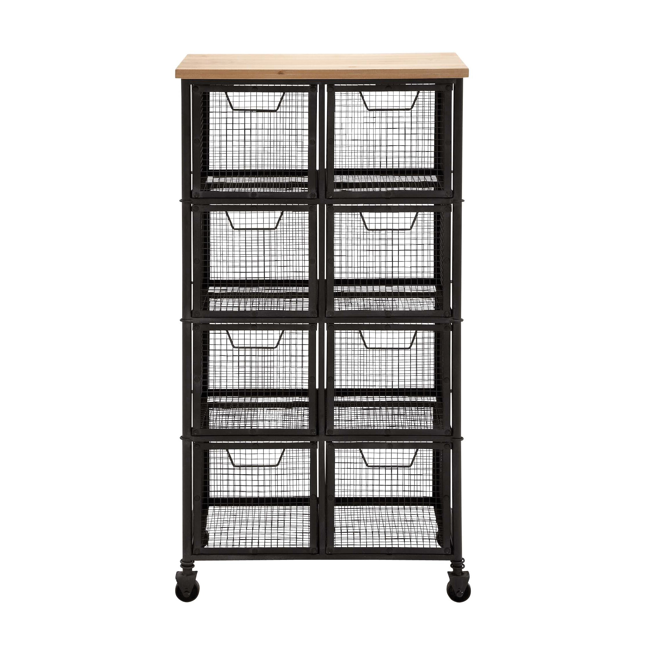Bombay Bedroom Furniture Woodland Imports Organize With Metal Amp Wood Storage