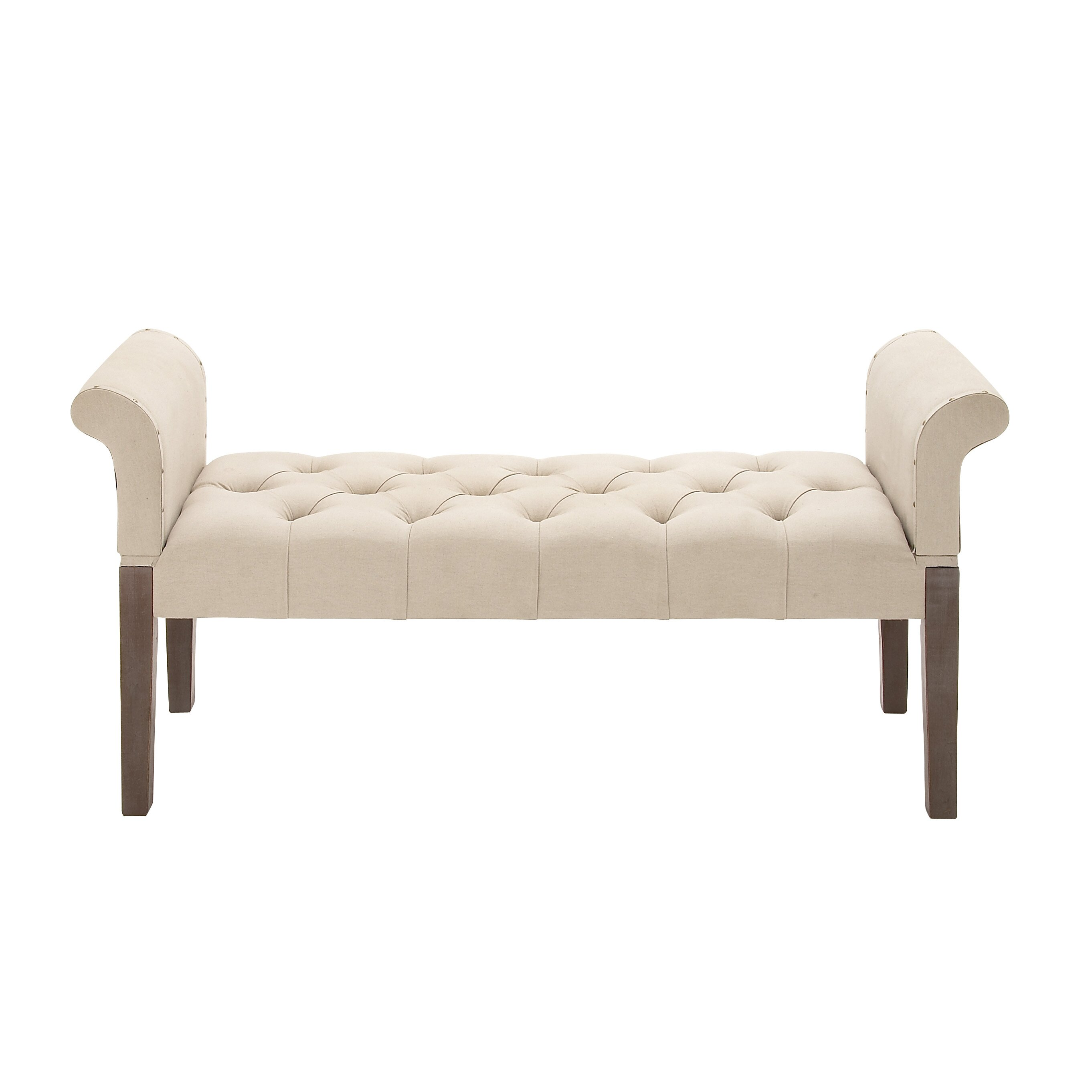fortable and Captivating Upholstered Bedroom Bench