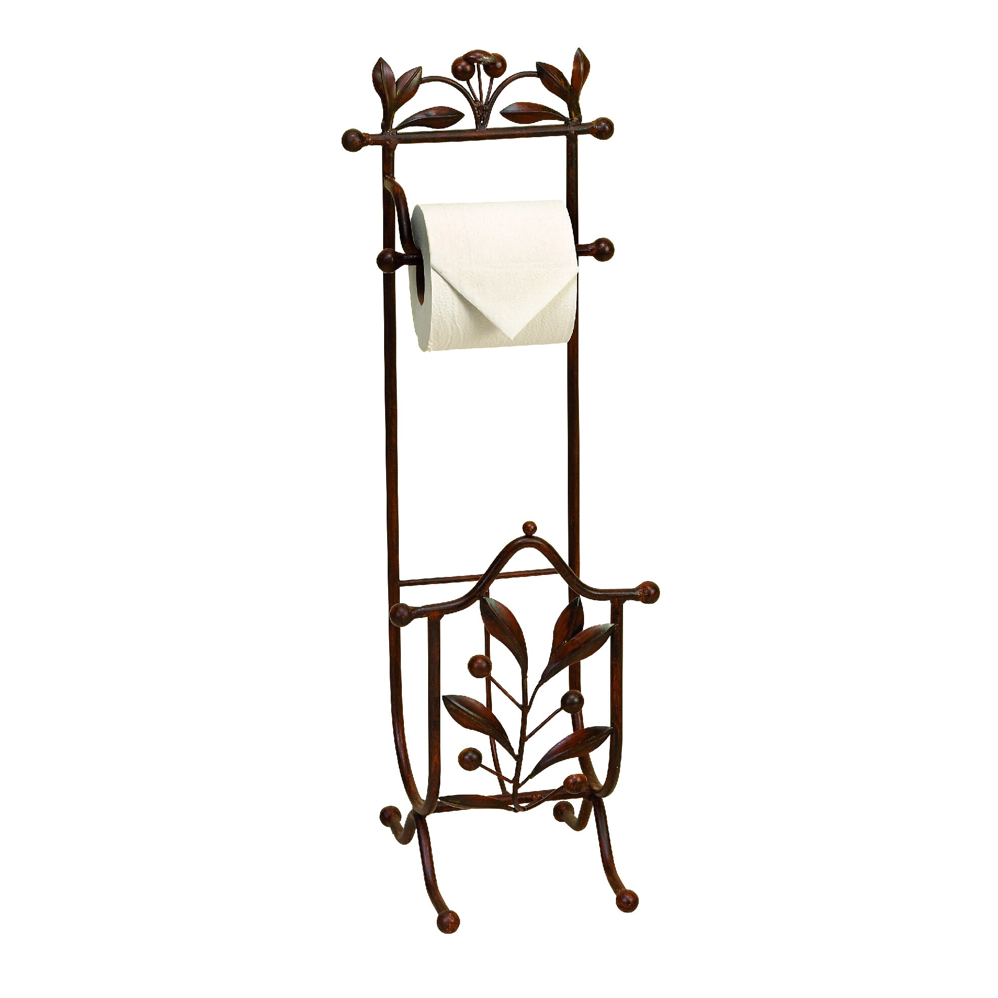 Woodland Imports Free Standing Toilet Paper Holder ... - photo#48