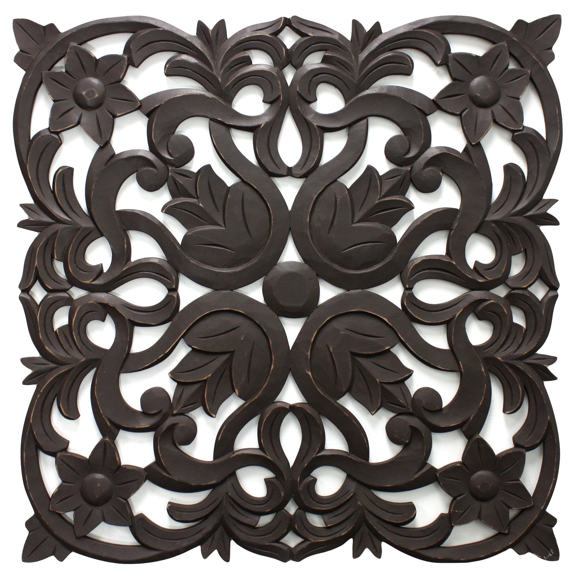Fetco Home Decor Vaughn Medallion Wall Décor & Reviews