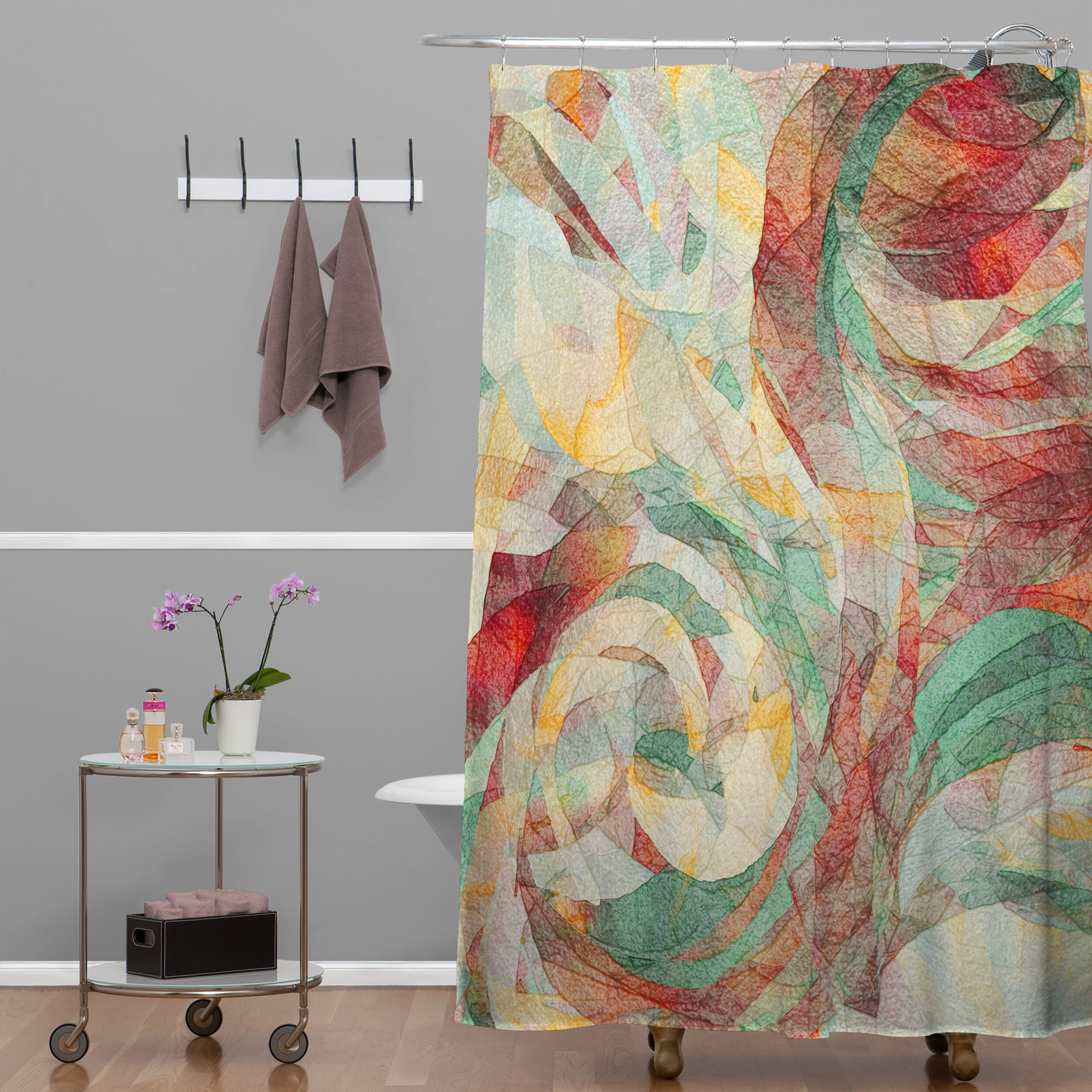 jacqueline maldonado rapt extra long shower curtain wayfair