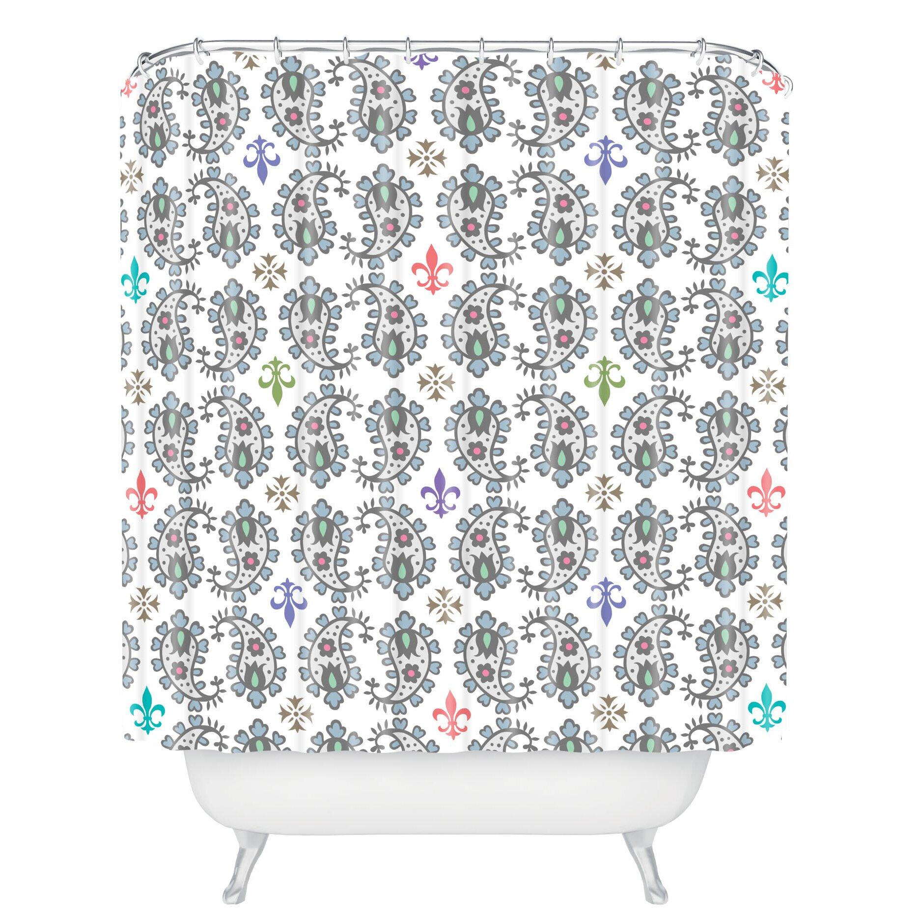 Andi Bird Paisley Ornamental Shower Curtain by DENY Designs