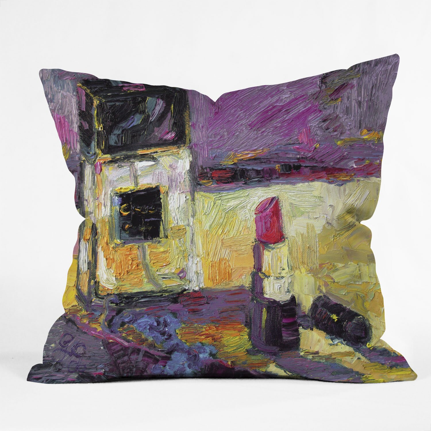 Oversized Decorative Pillow Ideas : Ginette Fine Art Coco Indoor/Outdoor Throw Pillow Wayfair.ca
